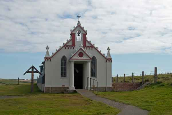 Inspirational Labour of love: The Italian Chapel on Mainland Orkney built by prisoners of war.