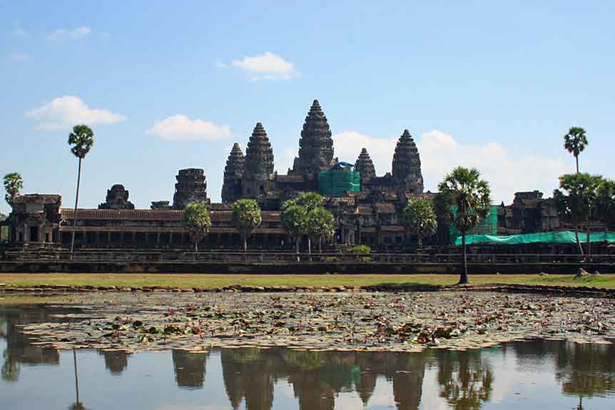 The Angkor Wat: legacy of enlightenment