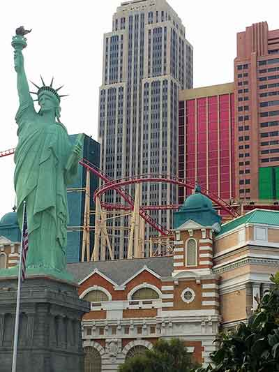 NEW YORK, NEW YORK Start spreading the news in Las Vegas