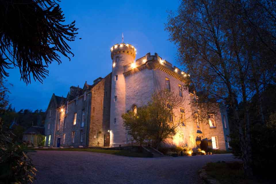 Tulloch Castle: haunting times